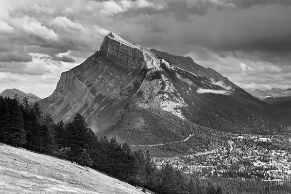 Rundle Mountain and Banff, Banff National Park