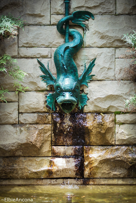 Fish Fountain, Biltmore Estate