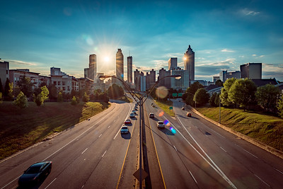 Atlanta, from Jackson St. Bridge