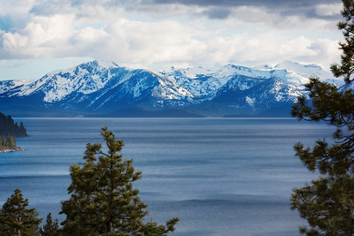Desolation Mountains from Lake Tahoe