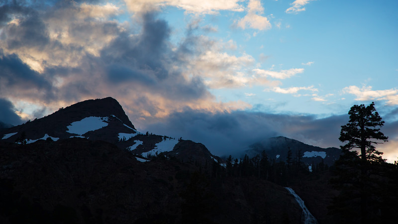 Storm over Jack's Peak