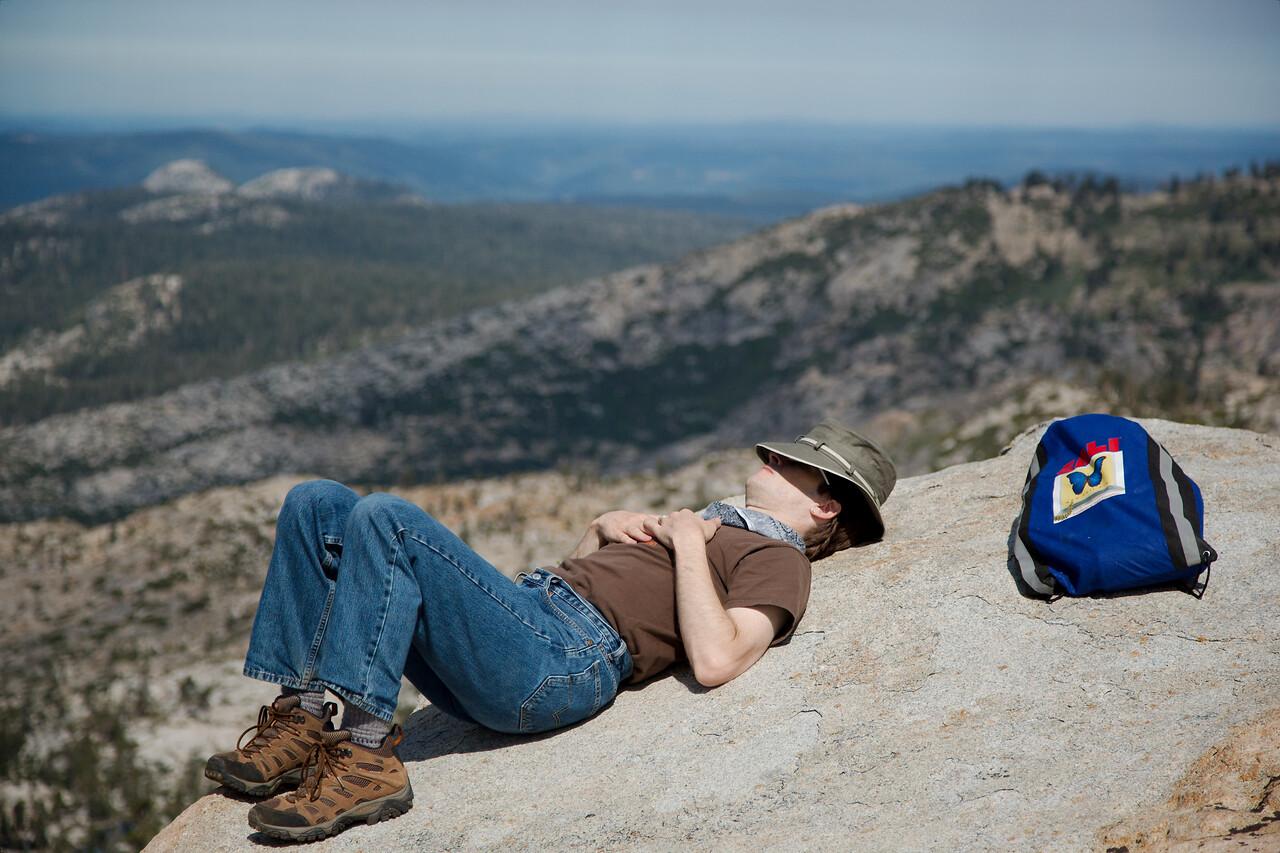 Hiking Half Way Point Rest