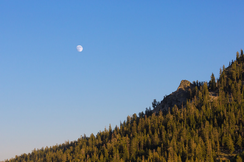 Becker Peak Waves Hi To The Moon