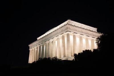 Lincoln At Night