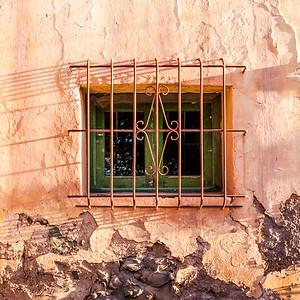 Window in Tilcara, Argentina