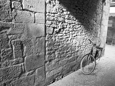 Bike in Sarlat