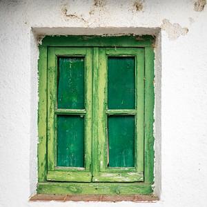 Window in La Vid, Spain