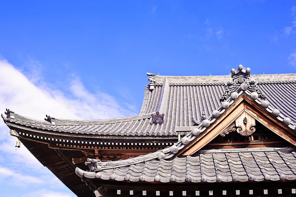 Detail of the Tokyo Honganji Temple <br /> <br /> Nikkor 50 f/14 @ f11
