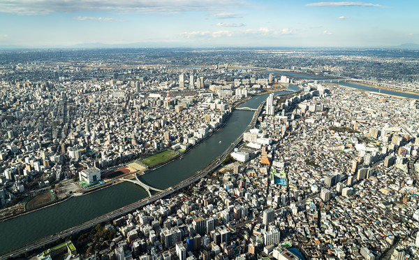 Sumida to Arakawa River