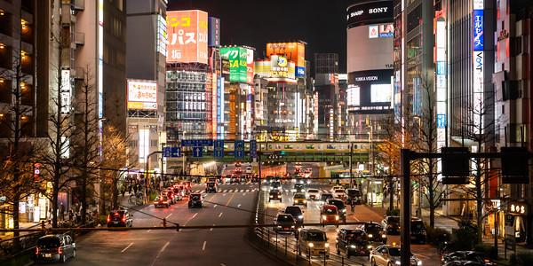 Tokyo Nights at Shinjuku Station