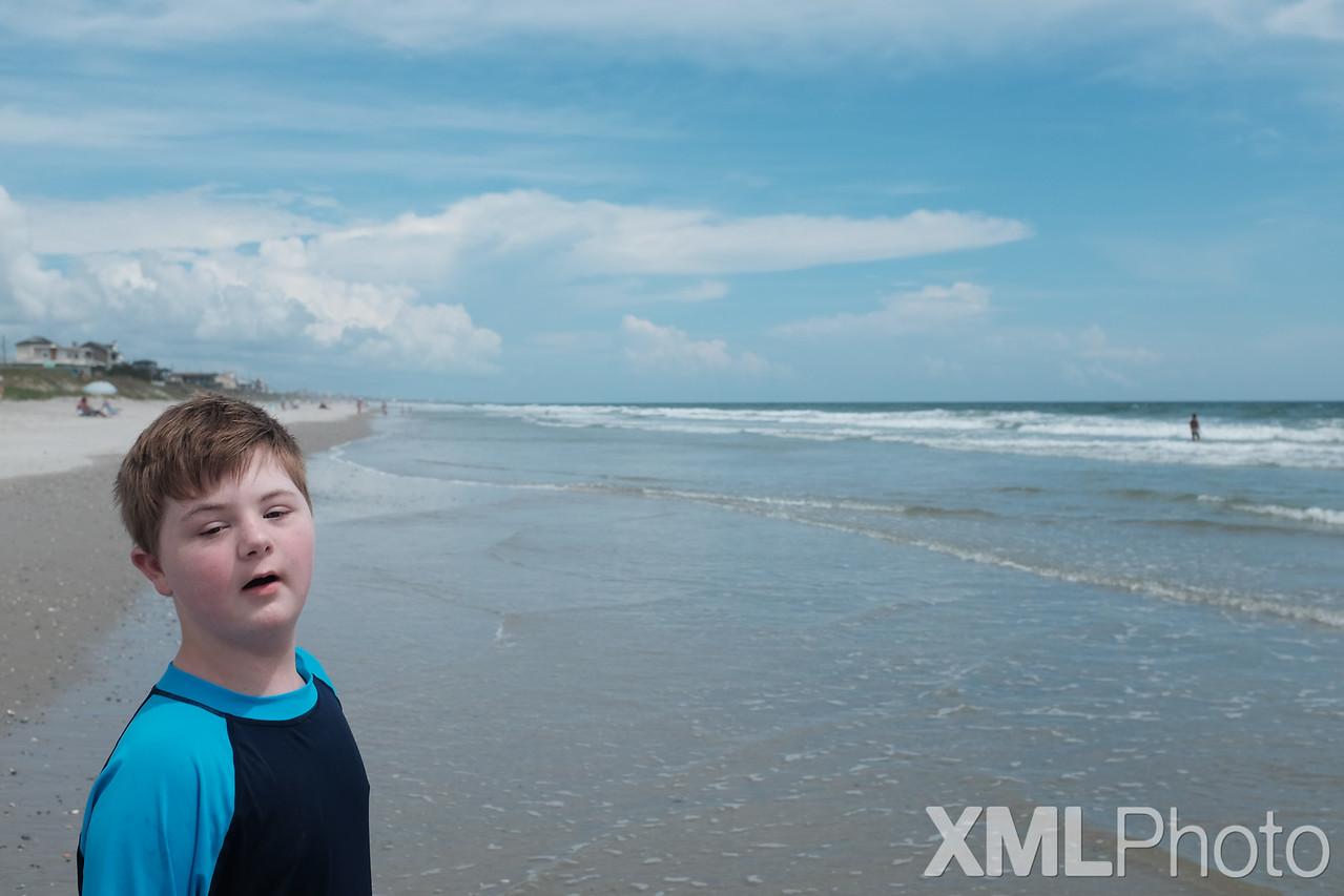 Vincent at Topsail Beach - September 2015