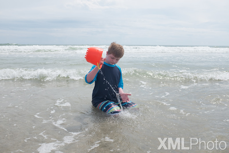 Vincent at Topsail Beach - September 2015