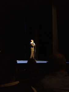 The Minister of Culture of Spain, José María Lassalle giving opening remarks to Rafaela's performance.
