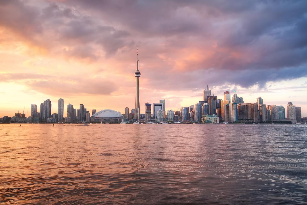 Sunburst Skies over Toronto