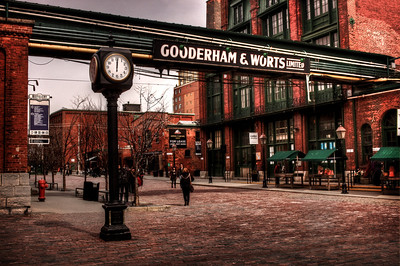 Distillery District, Toronto, ON