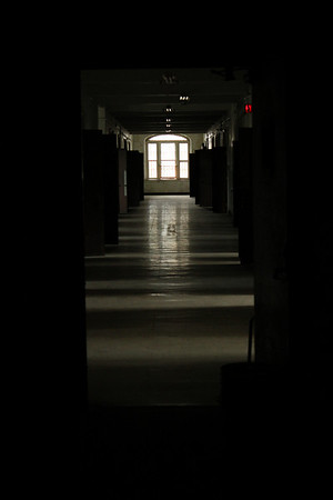 Trans-Allegheny Lunatic Asylum, wing in the main building closed to the public.