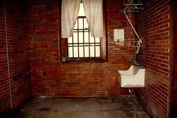 Trans-Allegheny Lunatic Asylum, Autopsy room in the Medical Center
