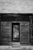 This sturdy cabin, adjacent to a mine entrance, begs for a black-n-white rendering so that you can appreciate its raw texture.