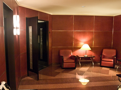 The mens lounge, Radio City Music Hall
