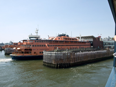 Staten Island Ferry at the Staten Island Terminal