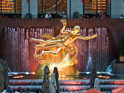 Prometheus Statue, Rockefeller Plaza, New York City