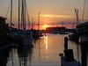 Sunset Bowen Wharf