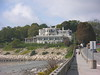 The Chanler at the beginning of the Cliff Walk