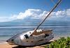 "Boat was just ""parked"" on Kanaapali Beach near the Hyatt"