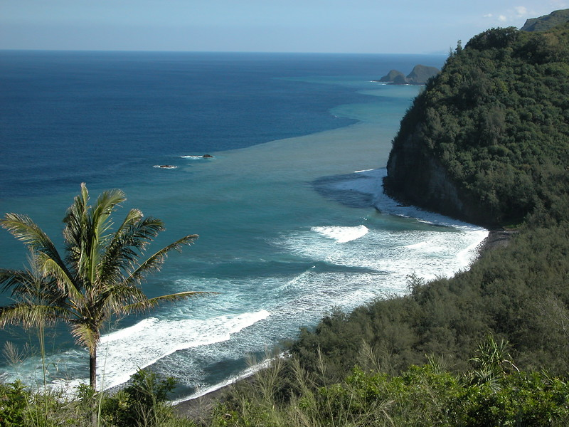 North end of the Big Island