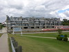 New luxurty townhouses going up at the New Buffalo harbor