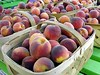 Peaches at Joe Jackson's Farm Stand, New Buffalo