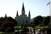 Church from Jackson Square