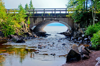 Cascade River Lake Superior