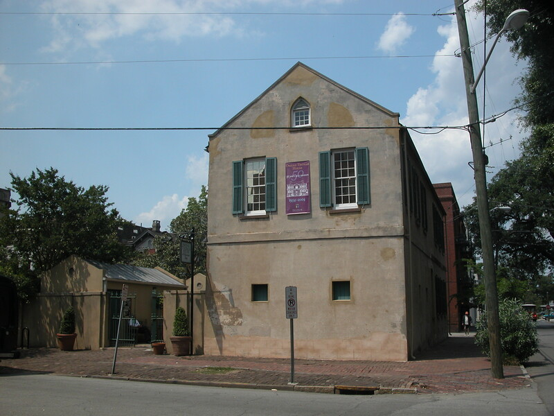 Carriage house of the Owens Thomas house
