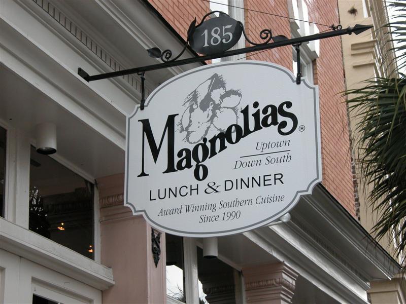 Where we ate dinner Sunday night.  Wonderful food and nice atmosphere.