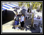 There was a web cam at the Salty Dog Cafe in South Beach Marina.  A friend of mine put me on to it.  Lori captured this and the next one.