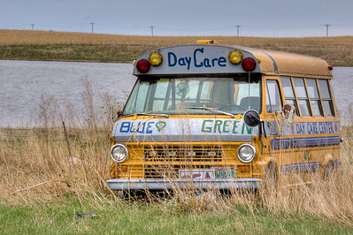 School Bus on Grismer Farm