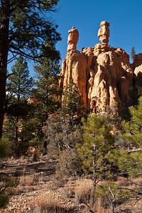 Salt & Pepper Hoodoos at Red Canyon National Park.
