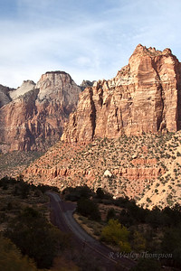 Leaving Zion and heading to Red Canyon.