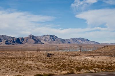 Terrain along I-15 between Las Vegas & St. George.