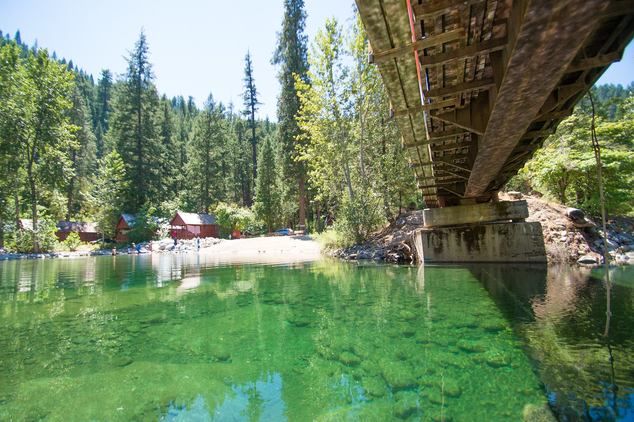 Trinity Alps Resort Swimming Hole