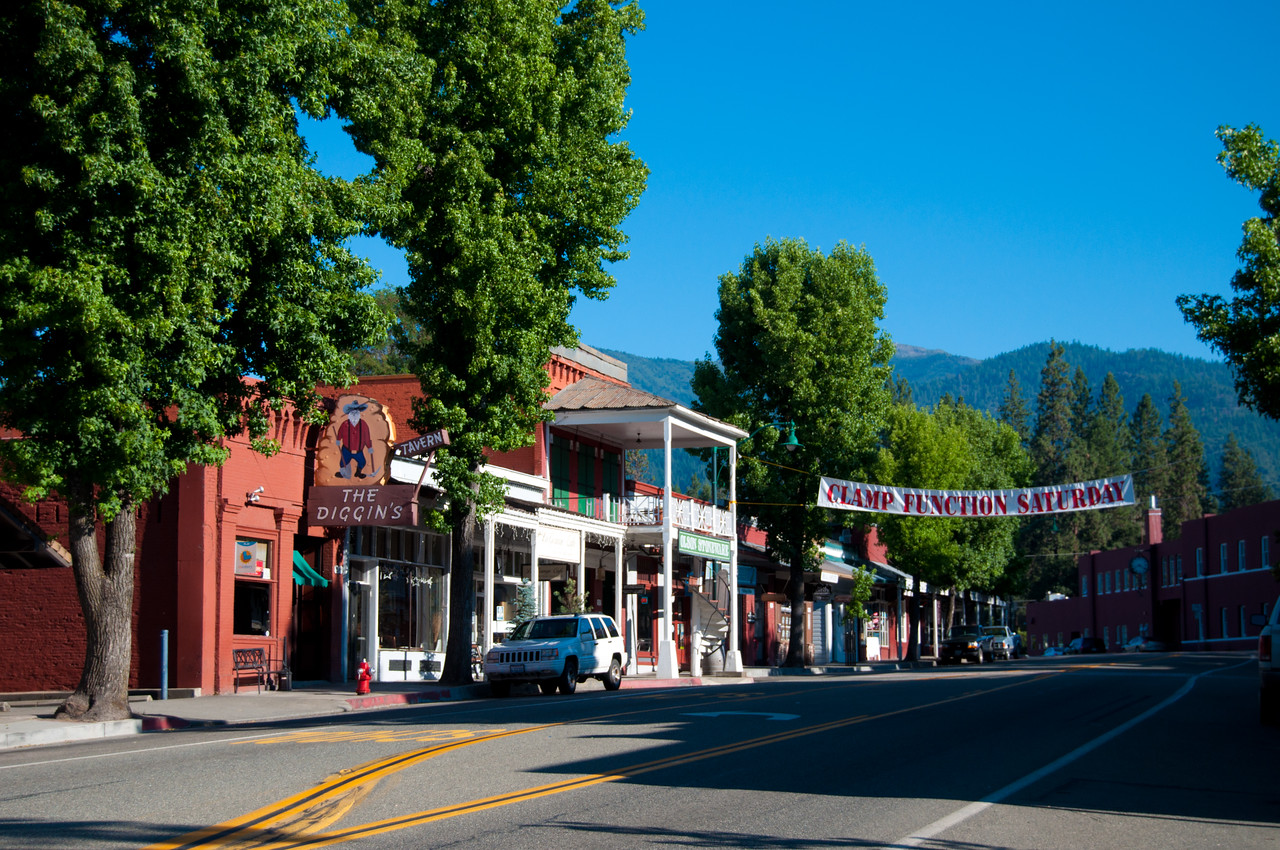 Main Street in Weaverville