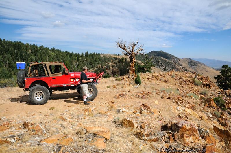 Jerry overlooking Antelope Valley