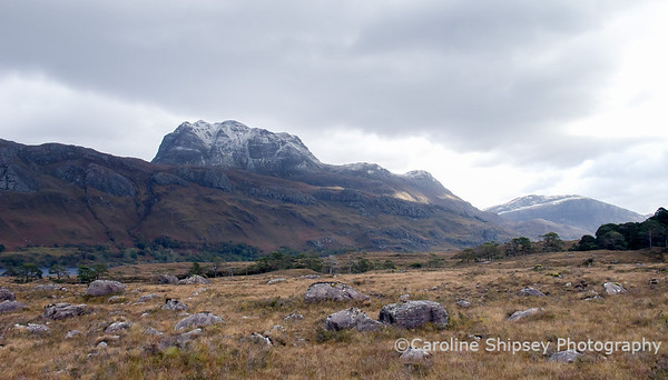 Slioch, by Loch Maree