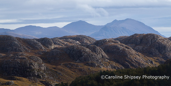 Hills to the North of Gruinard Bay, near Laide