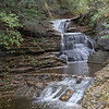 100120.  One of the many falls at Tremain State Park near Ithaca.