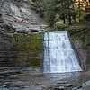 10-05-1-7.  Went for a late afternoon walk at Stony Brook to loosen up after the drive.  Found these falls.  Last time I was here,  the way was blocked off due to ice.