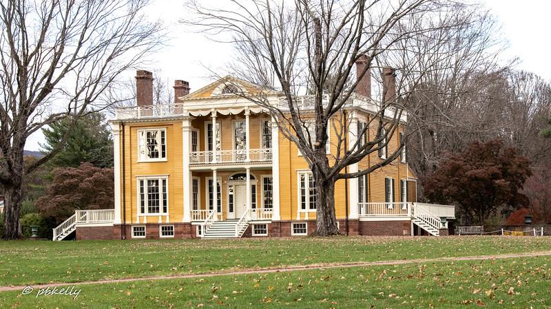 110319.  Boscobel, a mansion in Cold Spring NY.