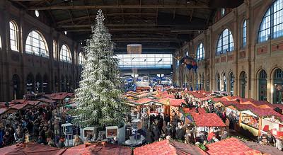 Christmas Market Zurich Station