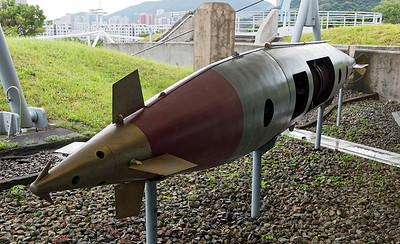 Brennan Torpedo at the Hong Kong Museum of Coastal Defence